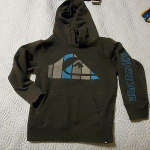 Kids size 5 quiksilver hoodie